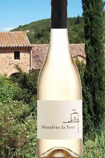 Montfrin La Tour blanc Grenache blanc Château de Montfrin