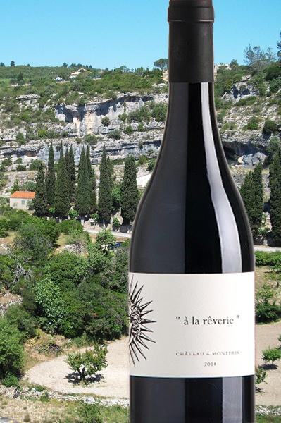"""Côtes du Rhône AOP """"à la rêverie"""" Château de Montfrin"""