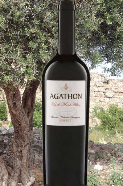 Agathon Mount Athos rot Tsantali