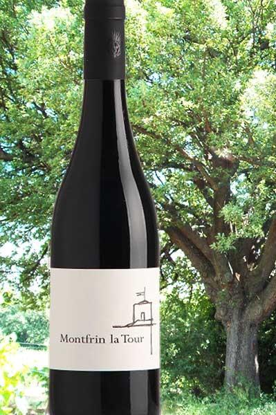 Montfrin La Tour rouge Château de Montfrin