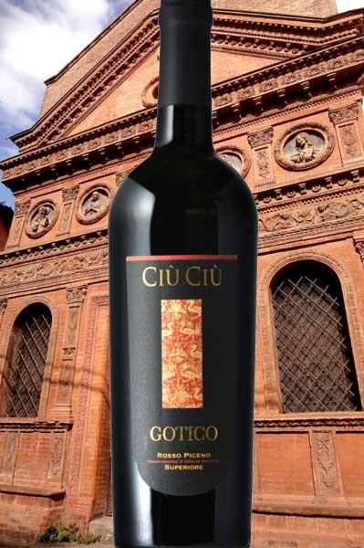 Gotico Rosso Piceno Ciu Ciu