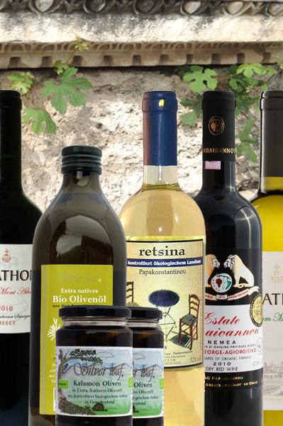 """Probierpaket Griechische Weine """"Hellas"""""""