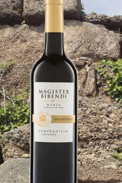 Rioja Crianza Magister Bibendi